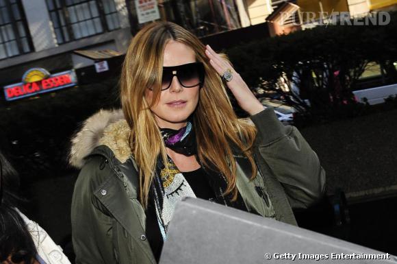 Heidi Klum à New-York