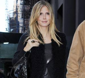Heidi Klum, un look félin... A shopper!