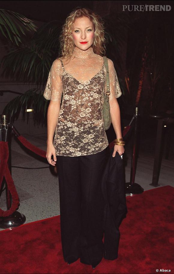 Kate Hudson étant la fille de Goldie Hawn, on aurait pu penser que l'amour de la mode était dans ses gènes : a priori non...