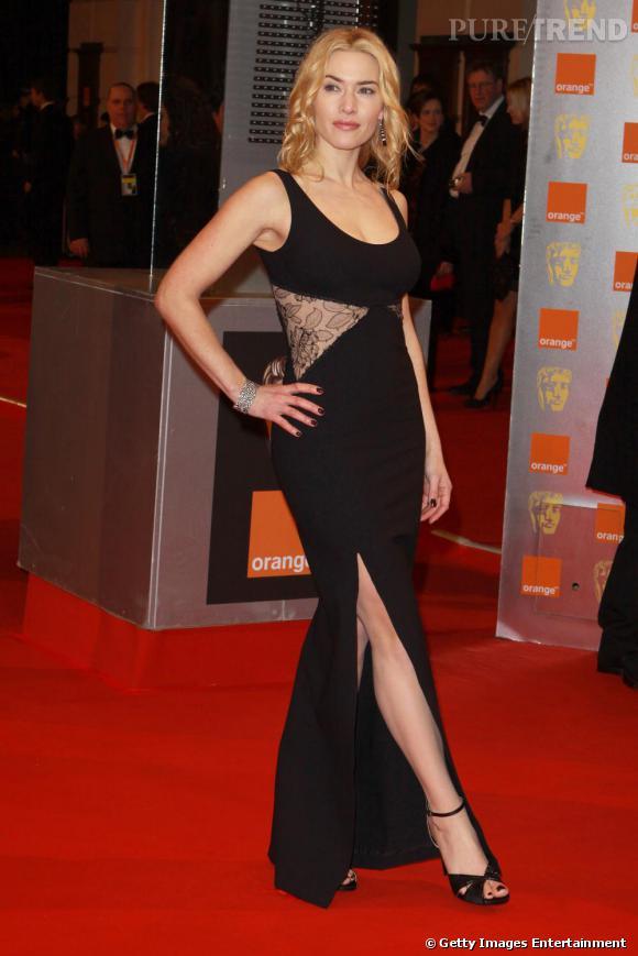 Kate Winslet était sculpturale sur le tapis rouge des BAFTAs