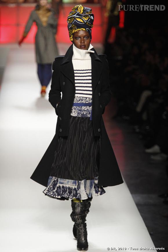 Défilé prêt-à-porter Femme Automne Hiver 2010-2011 : Jean Paul Gaultier