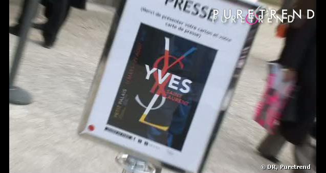 Vidéo du vernissage YSL Rétrospective