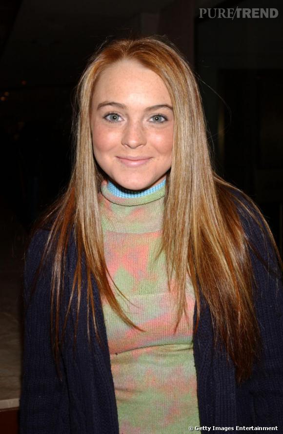 Du haut de ses 16 ans, Lindsay Lohan affichait une couleur naturelle, dans les tons blond venitien.