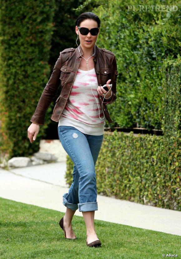 Katherine Heigl dans les rues de Los Angeles