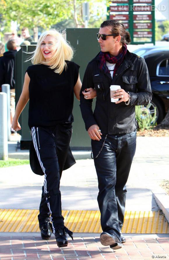 Gwen Stefani et Gavin Rosdale dans les rues de Los Angeles