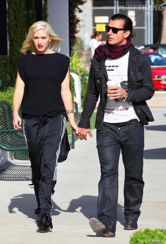 Gwen Stefani ou le port du jogging stylé