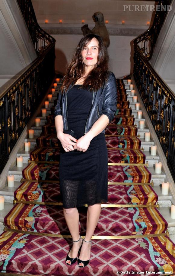 Zoé Félix à la soirée de lancement de la collection d'Eva Herzigova pour 1.2.3.