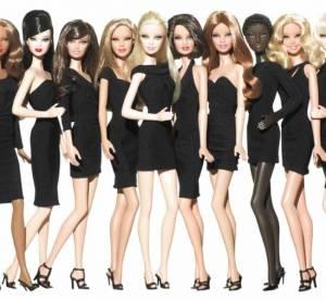 Barbie star du Festival de Cannes, en petite robe noire