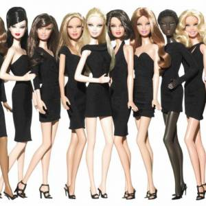 La collection Les petites robes noires de Barbie.