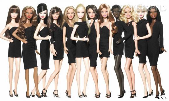 La collection Les petites robes noires de Barbie.