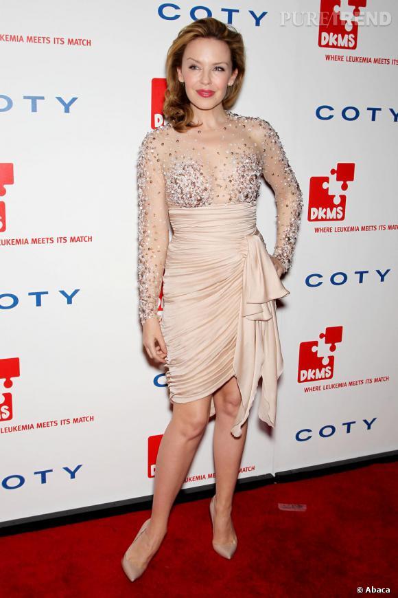 Kylie Minogue lors de la soirée de charité DKMS à Londres
