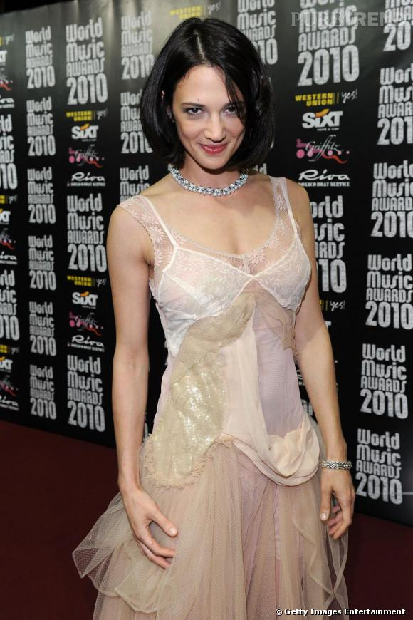 Asia Argento lors des World Music Awards