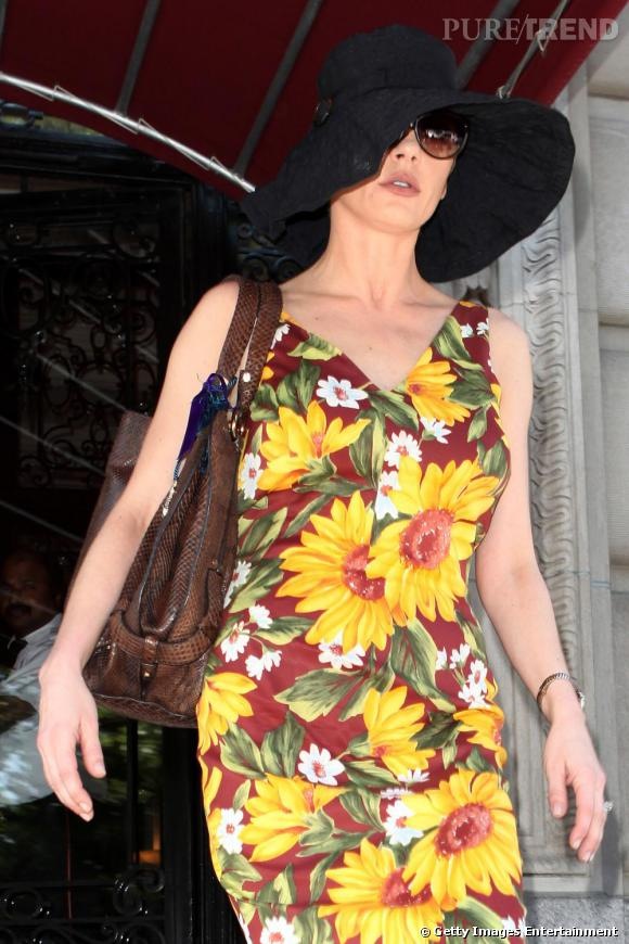 Catherine Zeta-Jones dans les rues de New York