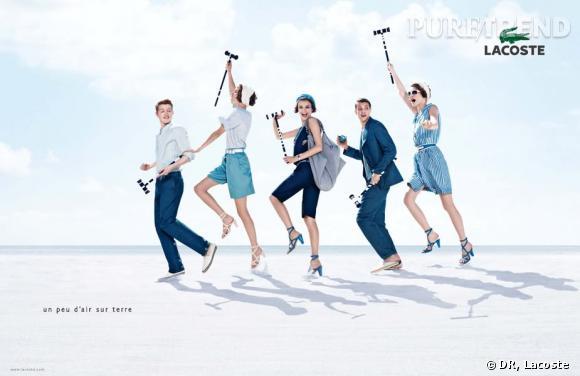 Campagne publicitaire Lacoste printemps-été 2010
