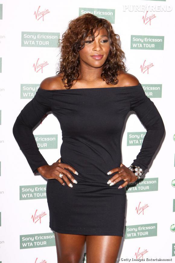 Serena Williams ose la minirobe ultra moulante