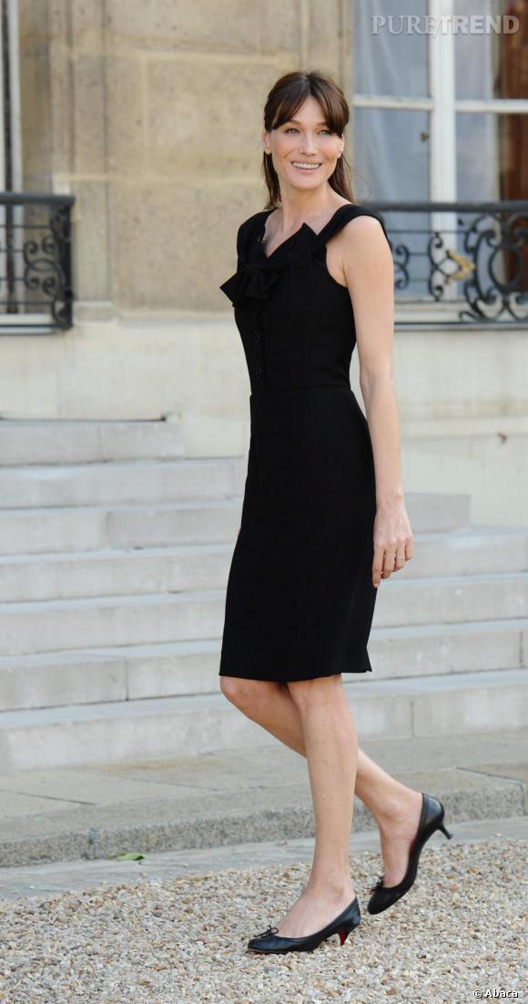 Carla Bruni ou l'élégance à la française