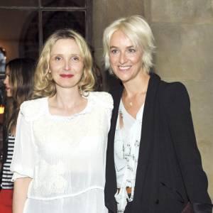 Julie Delpy et Vanessa Bruno à la soirée Vanessa Bruno au Château Marmont à Los Angeles