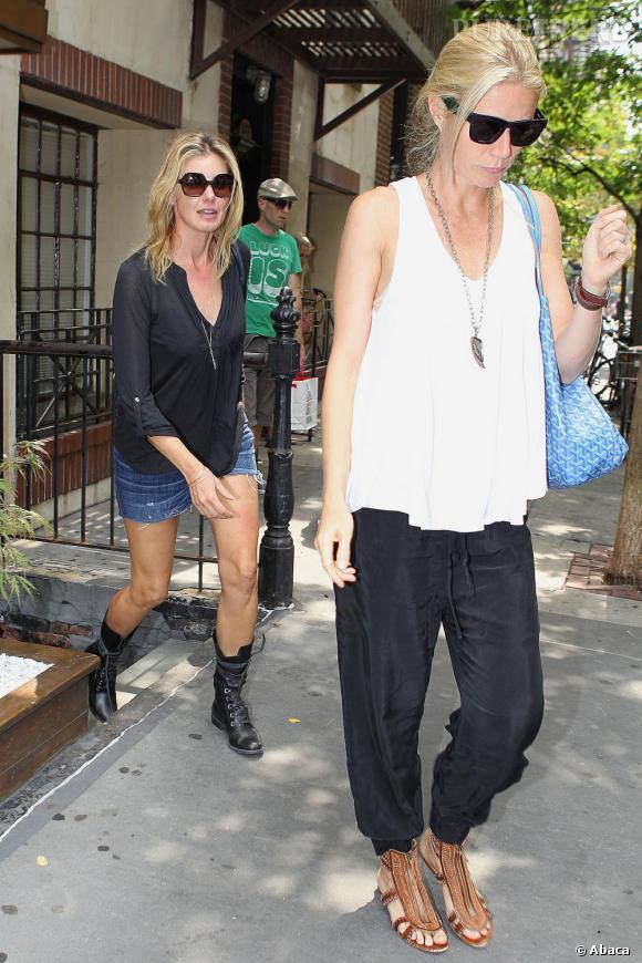 Gwyneth Platrow dans les rues de New York.