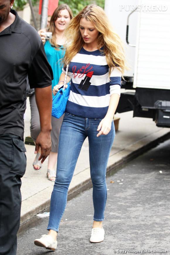 Même en dehors des plateaux de tournage de Gossip Girl, Blake Lively reste une fashionista.
