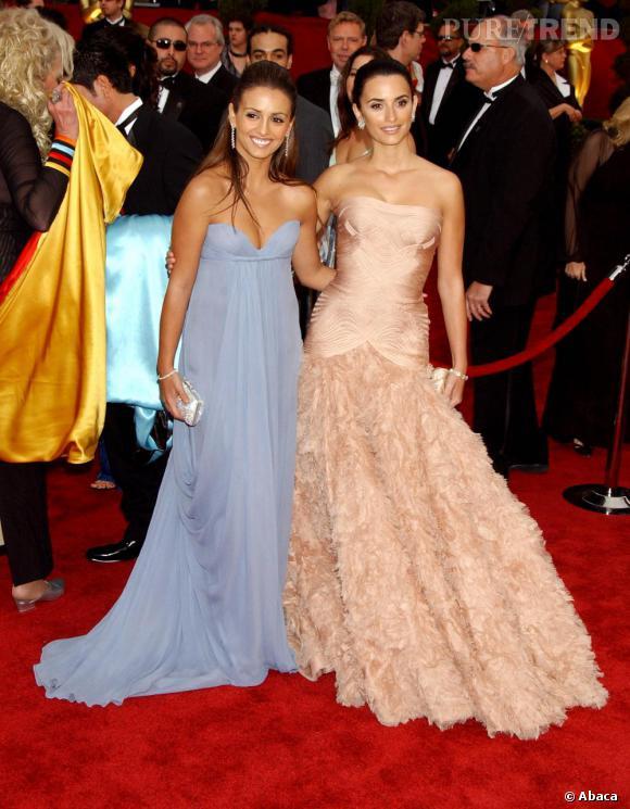 Sur red carpet, le duo cruz remporte tous les suffrages l'une en silhouette couture l'autre en vestale babydoll.
