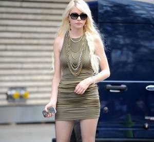 Taylor Momsen, du glam trash à la perfection en clin d'oeil !
