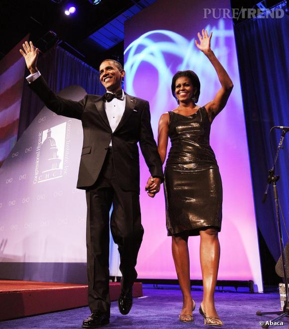 Le couple Obama sur son 31.