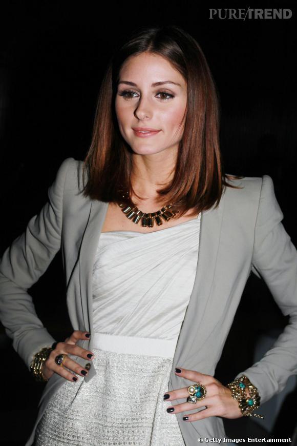 Olivia Palermo au défilé Giambattista Valli.