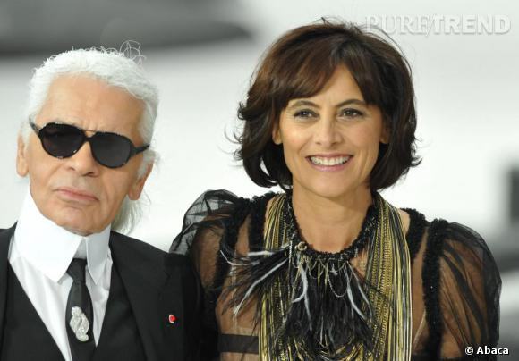 Octobre 2010 : Pour la Fashion Week française, Inès a défilé pour Chanel. Cheveux beaucoup plus longs et colorés, maquillage toujours aussi discret, elle est sublime.