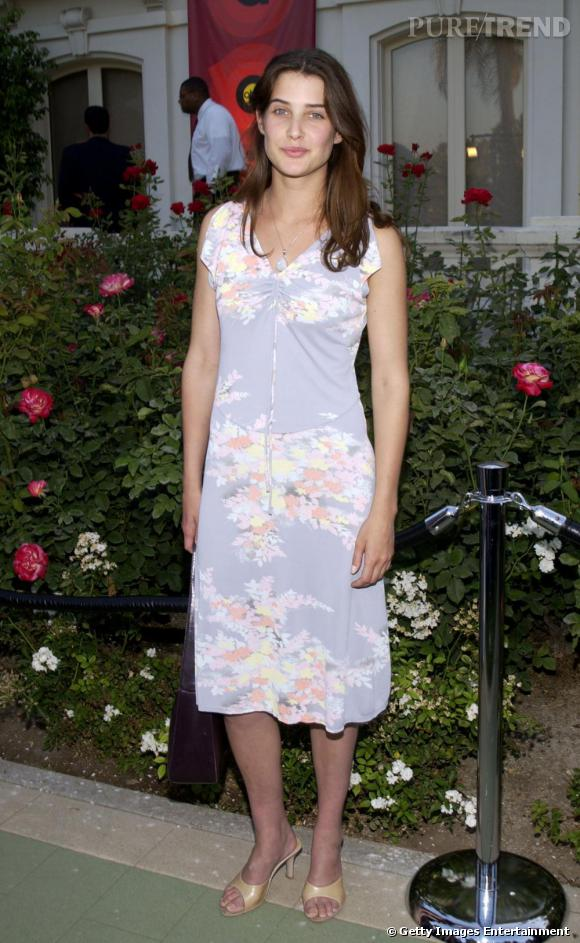 Cobie Smulders pour sa première apparition médiatique déçoit dans une robe fade et informe. Trop mémère...