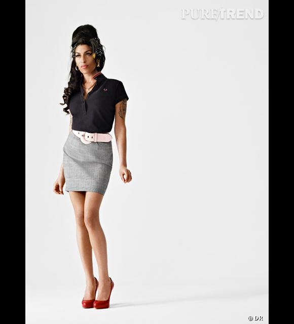 Collection Amy Winehouse pour Fred Perry.