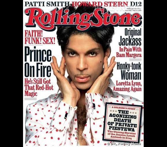 En 2004, Prince revient en couverture de Rolling Stone.