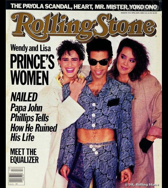 En 1986, le chanteur pose en couverture de Rolling Stone.