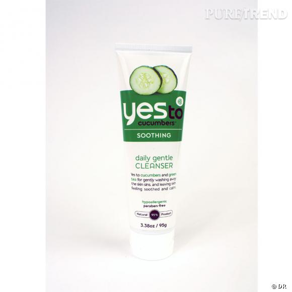 Nettoyant pour le visage Yes to Cucumbers, 11.90€.