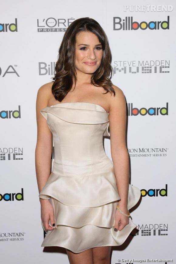 "Lea Michele aux ""Billboard's Fifth Annual Women in Music Awards"" à New York."
