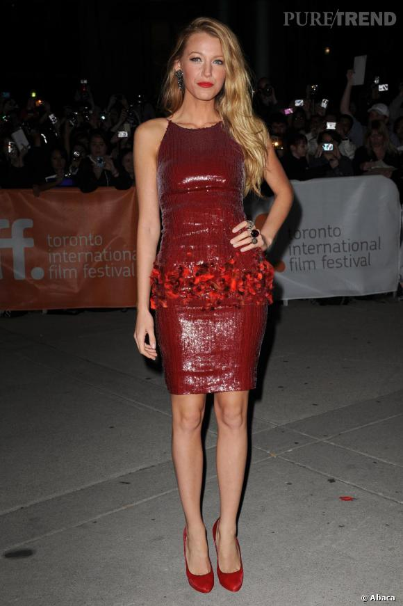 Rouge Chanel pour Blake Lively.