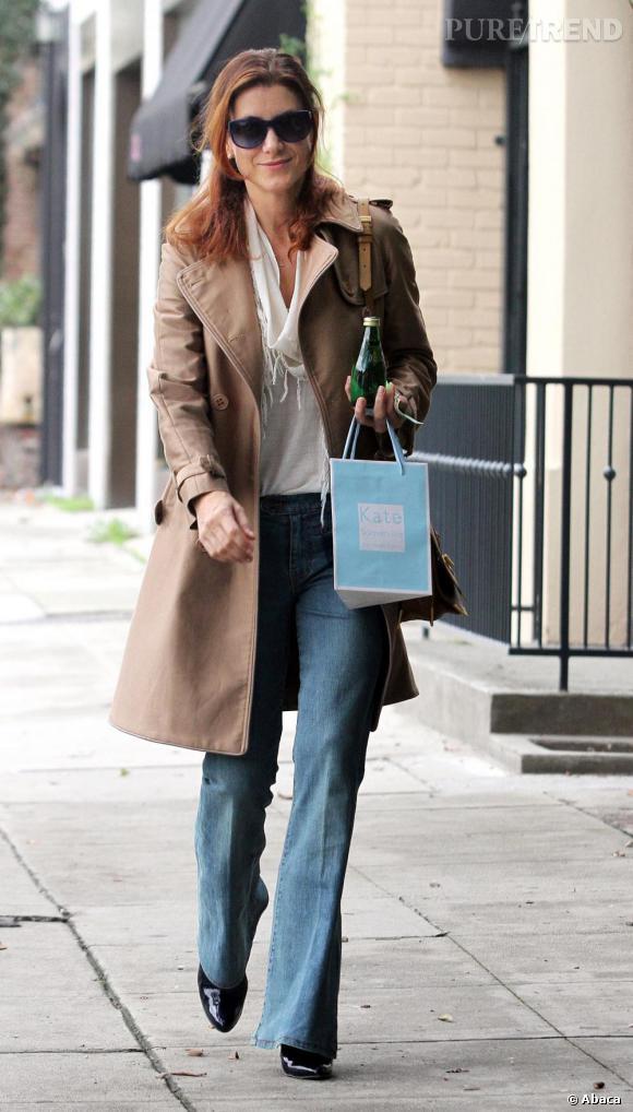 Kate Walsh dans les rues de Los Angeles.