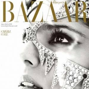 Cheryl Cole masquée de strass.