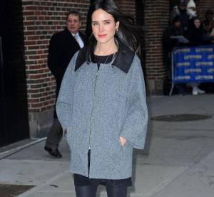 Jennifer Connelly, son look hivernal ultra sophistiqué... A shopper !
