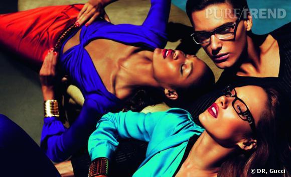 Campagne Gucci printemps-été 2011.