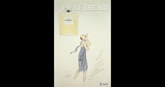 Première pub pour Chanel N°5.