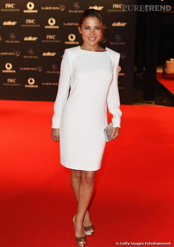 "Elsa Pataky aux ""Laureus World Sports Awards"", à Abu Dhabi."