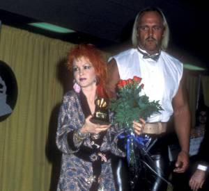 Cindy Lauper et Hulk Hogan, un duo détonnant en 1985.