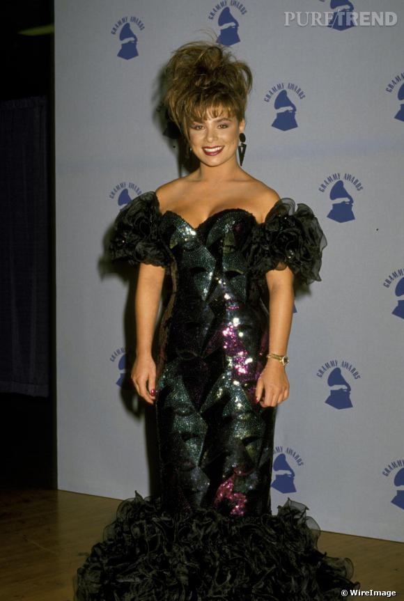 Paula Abdul en 1989... ou la classe made in Hollywood.