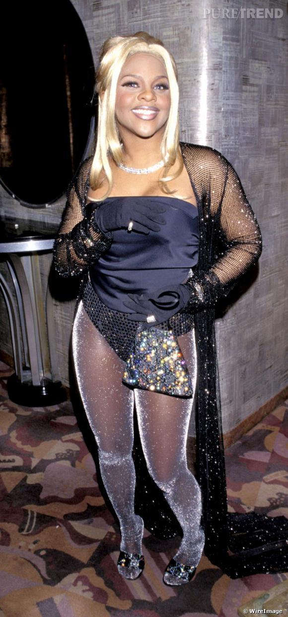 Lil'Kim en 1998. Le glamour ? Une histoire de goût...
