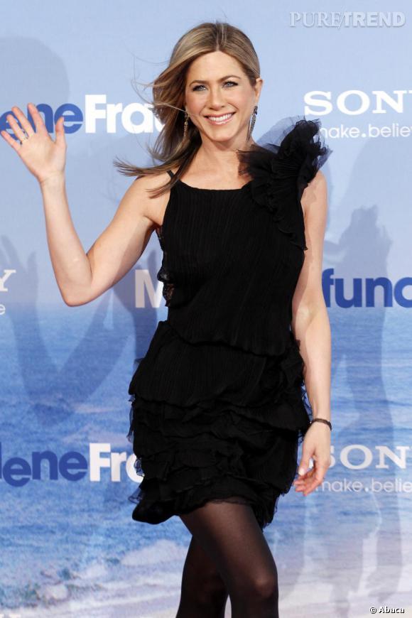 Jennifer Aniston à la première de Just Go With It, à Berlin.