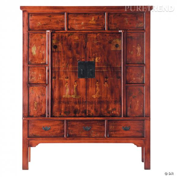Armoire Maisons Du Monde. Stunning Wood Carved Armoire ...