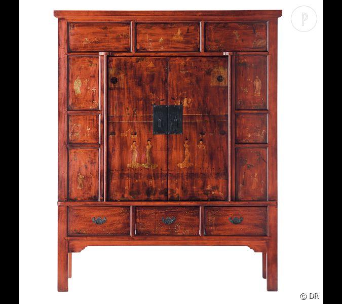 armoire shanga maisons du monde une pointe de rustique made in china dans son salon prix. Black Bedroom Furniture Sets. Home Design Ideas