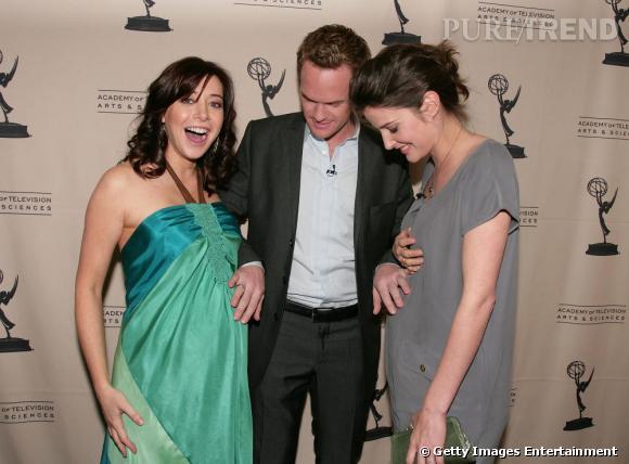 Aux côtés d'Alyson Hannigan et Cobie Smulders, toutes deux enceintes, Neil Patrick Harris fait sensation.