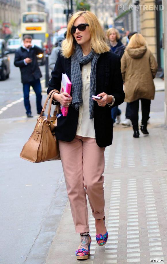Fearne Cotton craque pour les tendances et s'offre un look de printemps parfait.