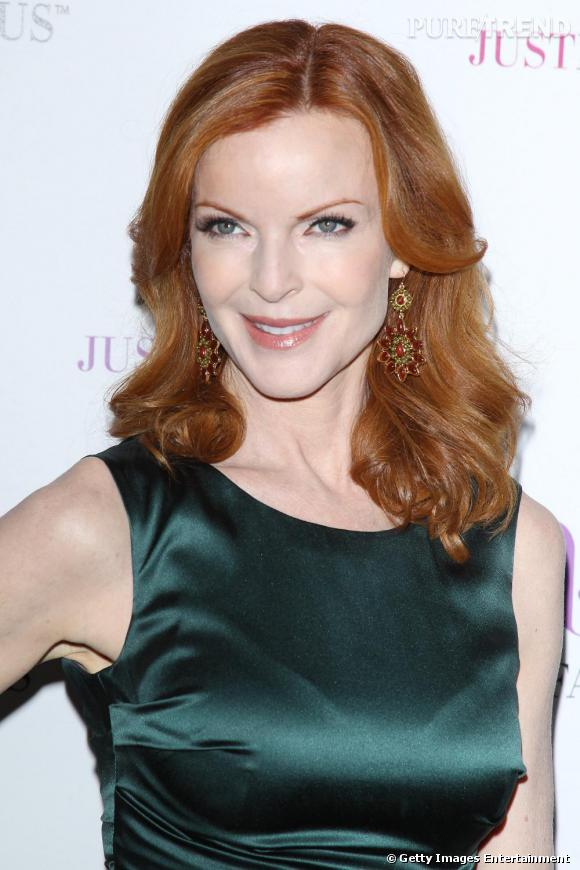 "Marcia Cross conviée à la soirée ""Just Fabulous"", à Los Angeles."